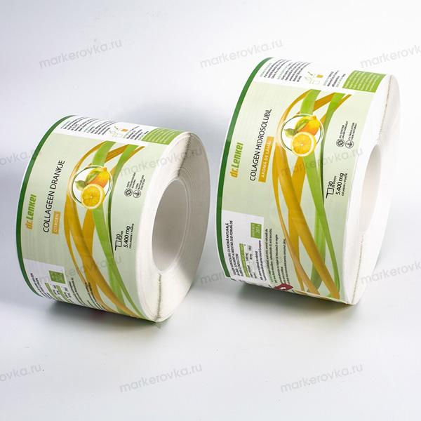 Этикетки без подложки. Этикетки на замороженные продукты - Маркировка.ru