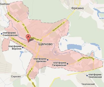 Карта проезда в Маркеровка.ру