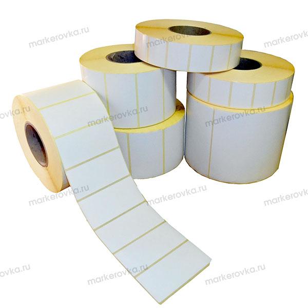 Самоклеящиеся этикетки круглые 60 мм